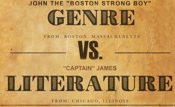 Genre vs Fiction:FIGHT!