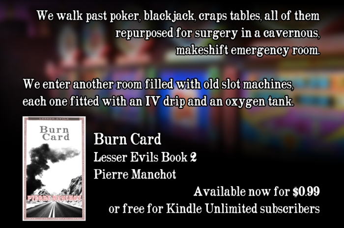 Burn Card: Lesser Evils Book 2 is OUT!
